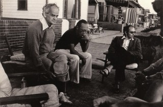 Manny Farber, Heiner Muller e Jean-Luc Godard | Foto di Wim Wenders