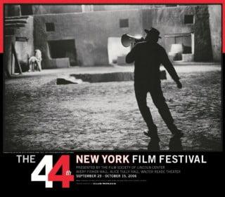 New York Film Festival, 2006