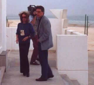 Scaccia con Oriana Fallaci