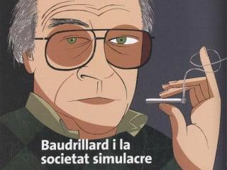 Baudrillard, caricatura di Guillem Cifré