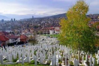 Cimiteri intorno alla città di Sarajevo