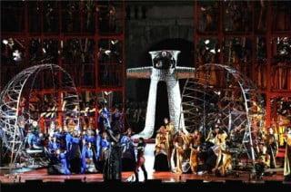 Roméo et Juliette - scenografia