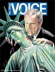 Copertina The Village Voice