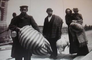 Migranti in arrivo ad Ellis Island