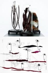 """Immagine della locandina della mostra """"Quanta luce nel nero"""""""