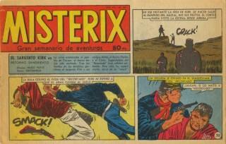 Copertina di Misterix