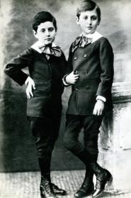 Proust da bambino con un amico
