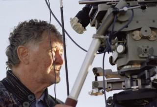 Ermanno Olmi durante le riprese del film