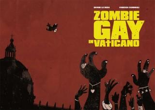 Copertina di Zombie gay in Vaticano di La Rosa e Cardinali