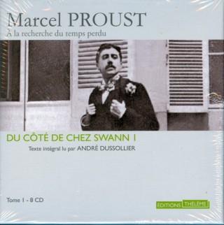 Copertina dell'audiolibro di Du côté de chez Swann