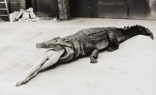 Helmut Newton: una scena dal balletto di Pina Bausch (1983)