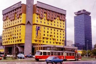 L'Holiday Inn di Sarajevo, sede dei corrispondenti stranieri durante la guerra