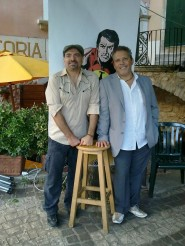 Moreno Burattini e Graziano Romani