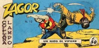 Una delle prime copertine di Zagor