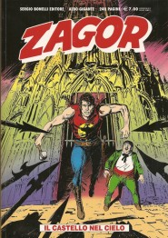 Copertina dello Zagor gigante