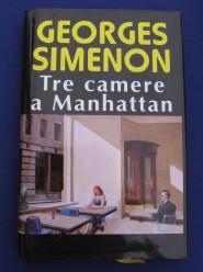 Copertina di Tre camere a Manhattan di Simenon