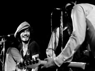 Bruce Springsteen in una foto dell'altro giorno