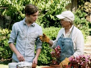 James con la nonna
