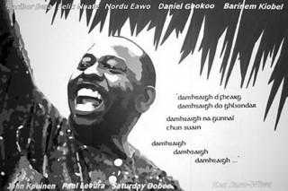 Murales dedicato a Ken Saro-Wiwa