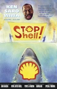 Poster contro la Shell