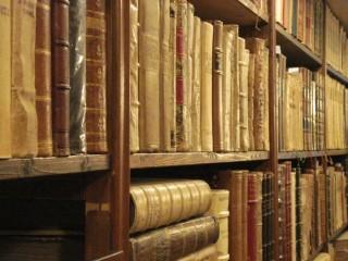 Scaffali di libri