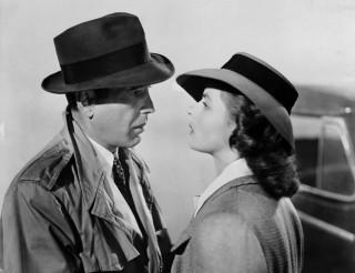 Bogard e Bergman in Casablanca