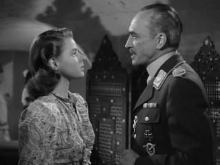Scena del film Casablanca