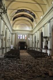 Chiesa di Cavezzo dopo il terremoto