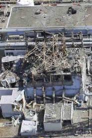 Centrale di Fukishima dopo il terremoto