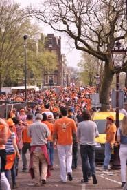 Marea oranje per Amsterdam
