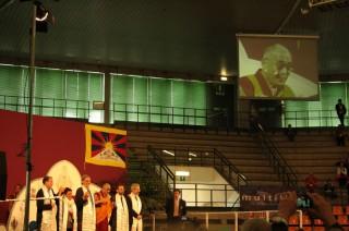 Il Dalai Lama a Udine
