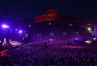 Lo stadio Nereo Rocco di Trieste gremito per Springsteen
