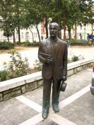 Statua di Italo Svevo