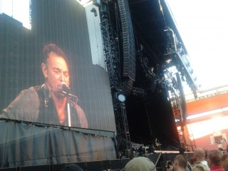 Bruce Springsteen in The ghost of Tom Joad a Praga (2012)