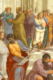 Dettaglio de La Scuola di Atene