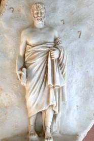 Bassorilievo filosofo greco