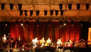 Un'immagine del concerto di Paolo Conte a Palmanova