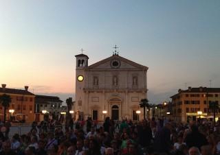Palmanova 26 luglio 2012, concerto di Paolo Conte