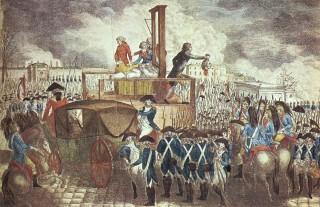 Rivoluzione francese e ghigliottina