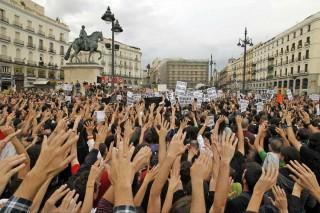Rivolta deli Indignatos a Madrid