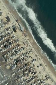 Passaggio di Sandy sulla costa