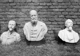 Il cortile delle sculture dimenticate