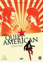 "copertina di ""The Quiet American"""