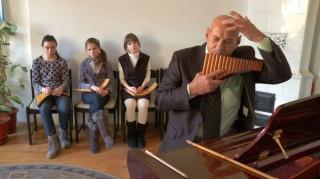 Un fotogramma di Balkan Melodie