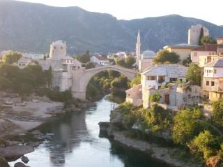 Veduta di Mostar, Bosnia-Erzegovina (foto di Federica Moro)