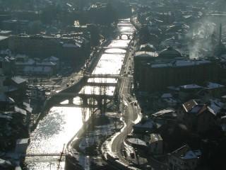 Veduta di Sarajevo, Bosnia-Erzegovina (foto di Nicola Tiezzi)