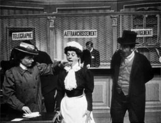 La femme collante, 1906