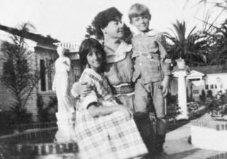Alice Guy con i suoi due figli