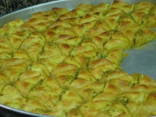 Baklava con pistacchi