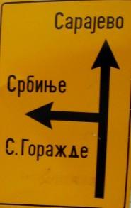 Segnaletica in cirillico
